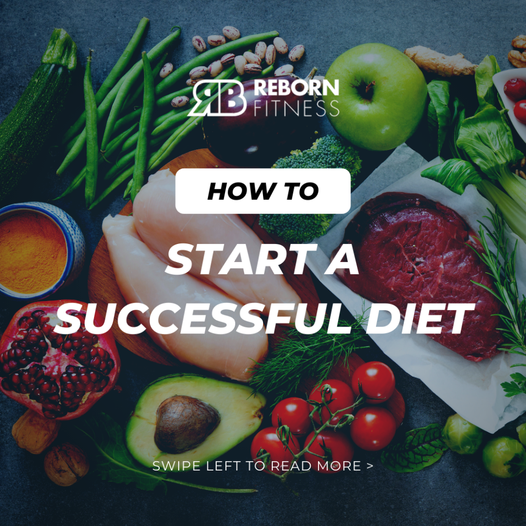 how to start a successful diet